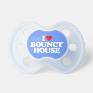 I LOVE BOUNCY HOUSE PACIFIER