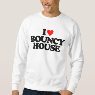I LOVE BOUNCY HOUSE SWEATSHIRT