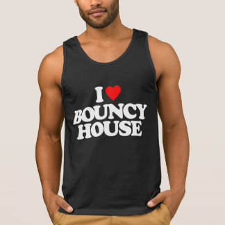I LOVE BOUNCY HOUSE TANK TOP