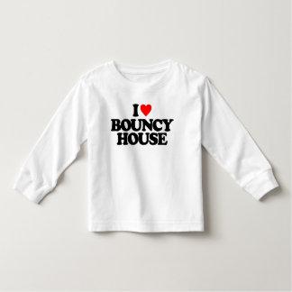I LOVE BOUNCY HOUSE TODDLER T-SHIRT