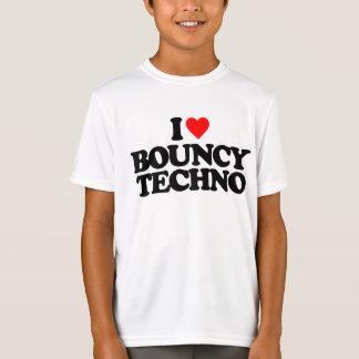 I LOVE BOUNCY TECHNO T-Shirt