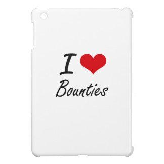 I Love Bounties Artistic Design Cover For The iPad Mini