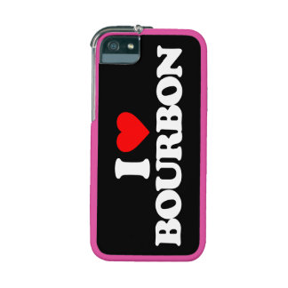 I LOVE BOURBON COVER FOR iPhone 5