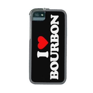 I LOVE BOURBON iPhone 5 COVERS