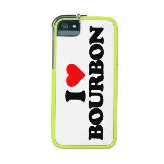 I LOVE BOURBON iPhone 5/5S COVERS