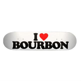 I LOVE BOURBON SKATEBOARD
