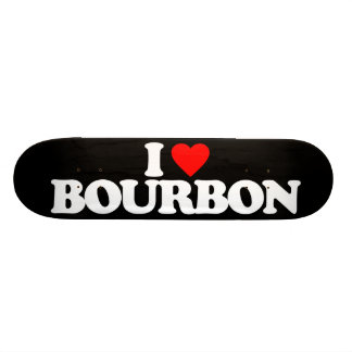 I LOVE BOURBON SKATEBOARD DECK