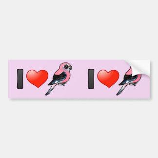 I Love Bourkies Bumper Sticker