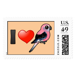I Love Bourkies Stamp
