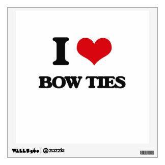I Love Bow Ties Room Graphics