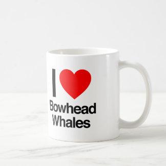 I love bowhead whales coffee mug