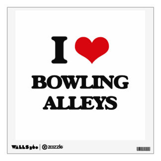 I love Bowling Alleys Wall Skins
