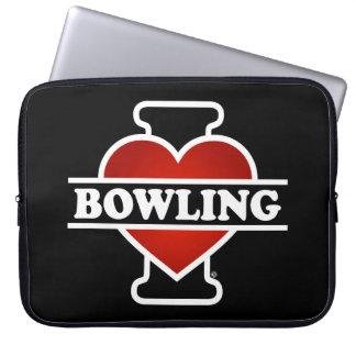 I Love Bowling Computer Sleeve