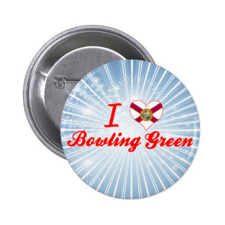 I Love Bowling Green, Florida Buttons
