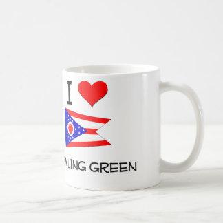 I Love Bowling Green Ohio Classic White Coffee Mug