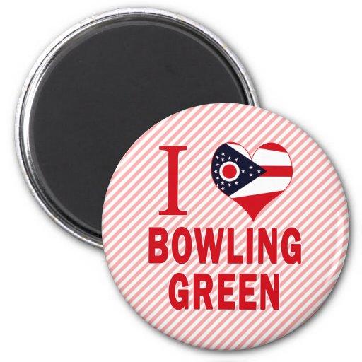 I love Bowling Green, Ohio Refrigerator Magnet