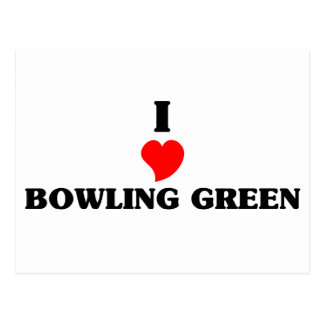 I love Bowling Green Postcard