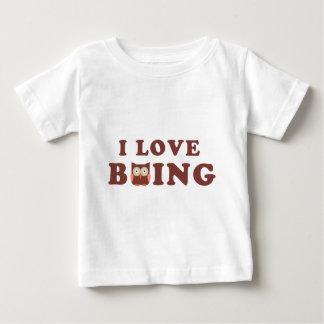 I Love bOWLing little comic owl Baby T-Shirt