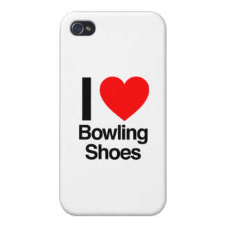 i love bowling shoes iPhone 4/4S cases