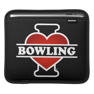 I Love Bowling Sleeve For iPads