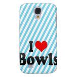I love Bowls Galaxy S4 Cases