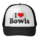 I love Bowls Trucker Hat