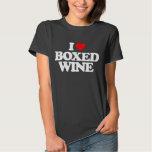 I LOVE BOXED WINE TSHIRT