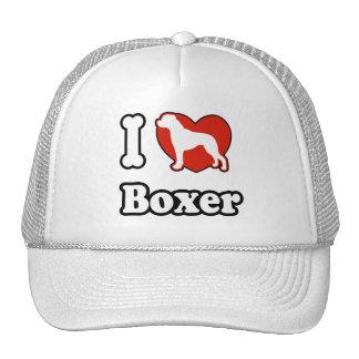I Love Boxer Hat