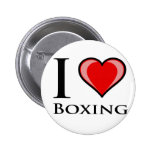I Love Boxing 2 Inch Round Button