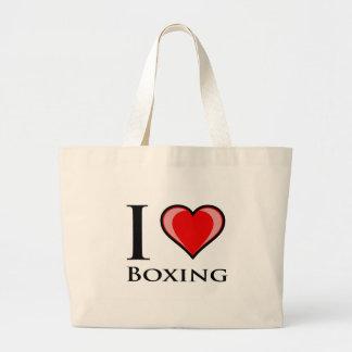 I Love Boxing Bag