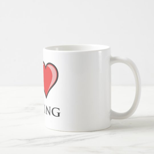 I Love Boxing Coffee Mug