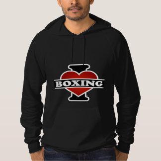 I Love Boxing Hoodie