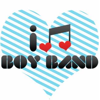 I Love Boy Band Cut Out