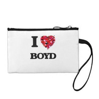 I Love Boyd Coin Wallet
