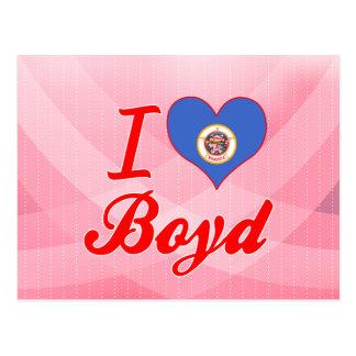 I Love Boyd, Minnesota Post Cards