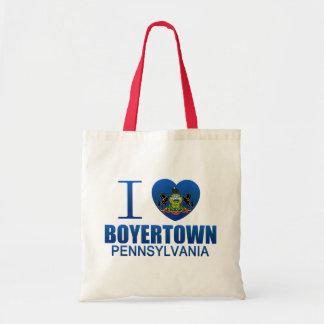 I Love Boyertown, PA Tote Bag