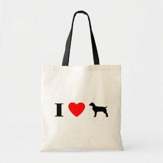 I Love Boykin Spaniels Bag