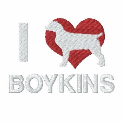 I Love Boykins Embroidered Shirt (Long Sleeve)