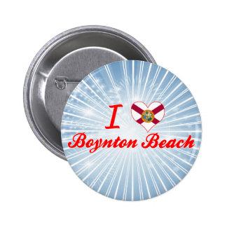 I Love Boynton Beach, Florida Buttons