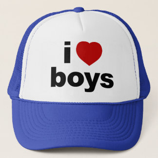 I Love Boys Hat