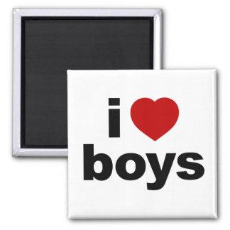 I Love Boys Magnet