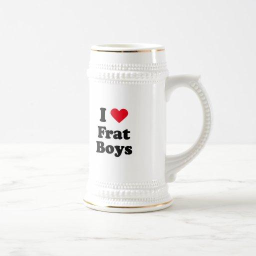 I love boys mug