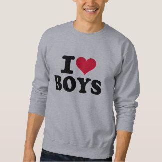 I love boys sweatshirt