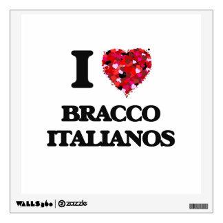 I love Bracco Italianos Wall Skins