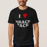 I love Brace Face - Basic Dark t-shirt