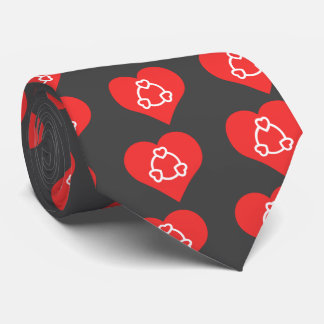 I Love Bracelets Cool Icon Tie