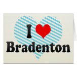 I Love Bradenton, United States Cards
