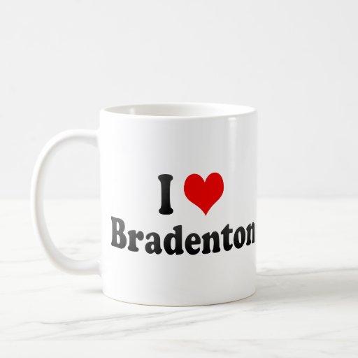 I Love Bradenton, United States Mug