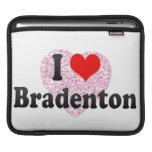 I Love Bradenton, United States Sleeve For iPads
