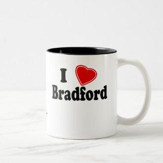 I Love Bradford Two-Tone Coffee Mug